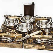 Сувениры и подарки handmade. Livemaster - original item Weapons: NKVD set for four persons. Handmade.