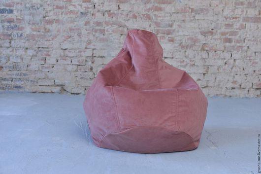 Мебель ручной работы. Ярмарка Мастеров - ручная работа. Купить Готовая работа! Кресло-груша детское из микровелюра. Handmade. Розовый