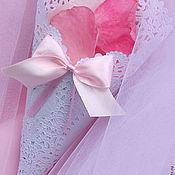 Свадебный салон handmade. Livemaster - original item Kulechki for petals Pink roses. Handmade.