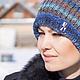 Шапки ручной работы. Шапка бохо из норо.. Knitted fashion by Ekaterina Bykova. Ярмарка Мастеров. Шапка вязаная женская