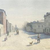 Картины и панно handmade. Livemaster - original item To buy the painting style in watercolors Moscow, Pyatnitskaya street. Handmade.