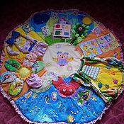 """Куклы и игрушки ручной работы. Ярмарка Мастеров - ручная работа Развивающий коврик """"Совунья"""". Handmade."""