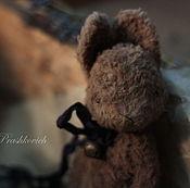 Куклы и игрушки ручной работы. Ярмарка Мастеров - ручная работа Зайка для путешествий Молочный шоколад. Handmade.