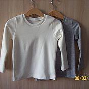 Одежда ручной работы. Ярмарка Мастеров - ручная работа лонгслив и футболка. Handmade.