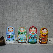 Русский стиль handmade. Livemaster - original item Thimbles collectible. Seasons. Handmade.