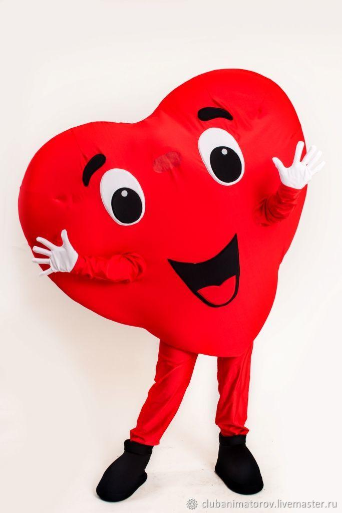 Suit Heart courier, Props for animators, Ufa,  Фото №1