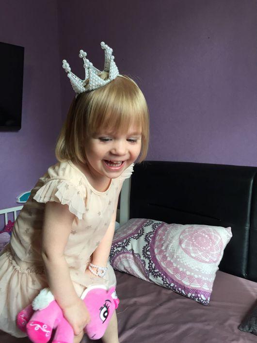 Детская бижутерия ручной работы. Ярмарка Мастеров - ручная работа. Купить Корона для принцессы. Handmade. Корона, корона для мамы и дочки