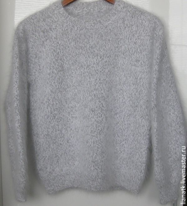 Пуловер из ангоры доставка