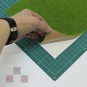 Материалы для творчества ручной работы. Ярмарка Мастеров - ручная работа Травяное покрытие для оформления миниатюр и кукольных домов. Handmade.