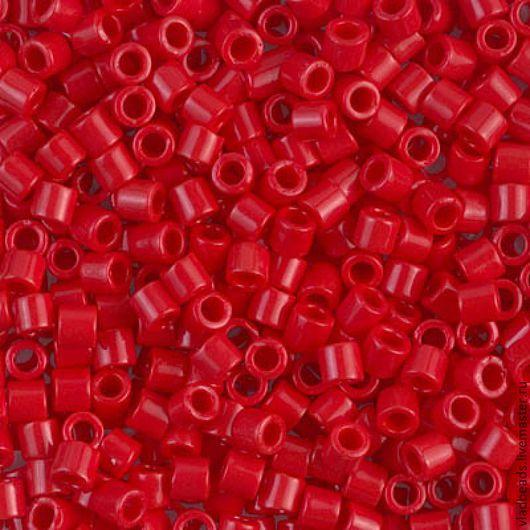 Для украшений ручной работы. Ярмарка Мастеров - ручная работа. Купить Бисер delica 8/0 723 Opaque Dark Crenberry 5 (!) гр.. Handmade.