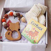 Работы для детей, handmade. Livemaster - original item A gift for the birth of a child, a gift for a newborn. Handmade.