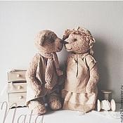 Куклы и игрушки ручной работы. Ярмарка Мастеров - ручная работа Винтажные мишки тедди. Handmade.