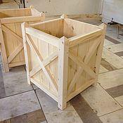 Мебель ручной работы. Ярмарка Мастеров - ручная работа Кашпо. Handmade.