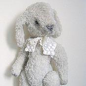 Куклы и игрушки ручной работы. Ярмарка Мастеров - ручная работа Кролик тедди авторский, вискоза. Handmade.