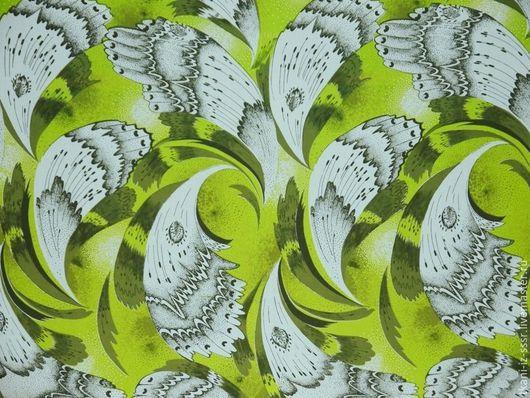 Шитье ручной работы. Ярмарка Мастеров - ручная работа. Купить 10  Крепдешин Натуральный шелк винтаж СССР 2 м 85 см. Handmade.