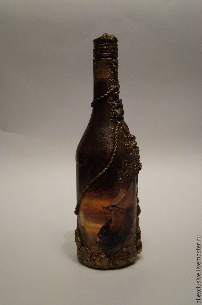 Оформление бутылок на день рождение мужчине 119