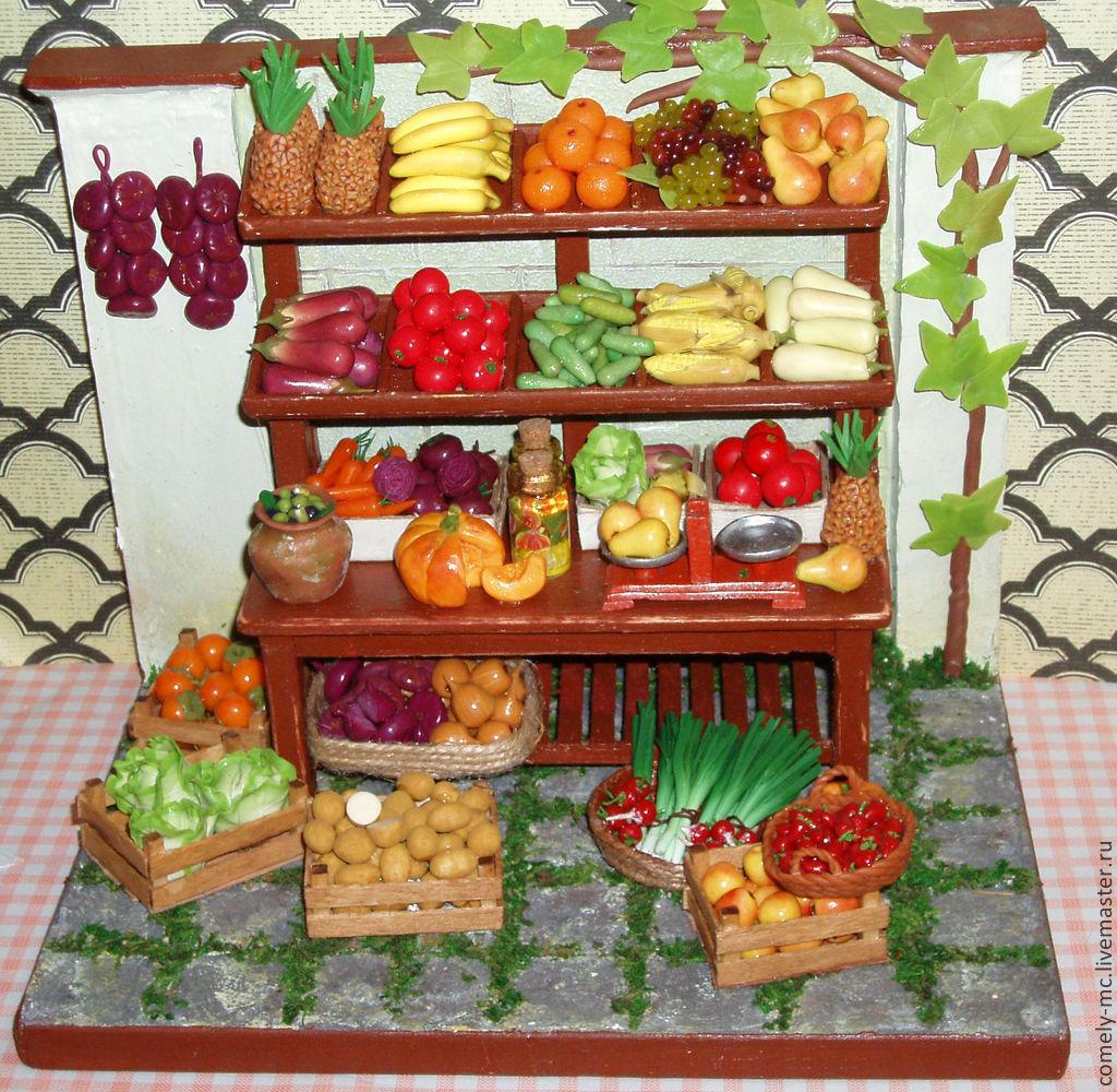 Овощной прилавок своими руками фото 42