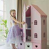 """Кукольные домики ручной работы. Ярмарка Мастеров - ручная работа Кукольный домик """"Стефания с дверками"""". Handmade."""