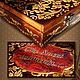 """Шкатулки ручной работы. Заказать Фотоальбом с футляром """"The sweet moments..."""". Ms PO. Ярмарка Мастеров. подарок на юбилей"""