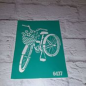Материалы для творчества handmade. Livemaster - original item 6437 adhesive-based Stencil reusable. Handmade.