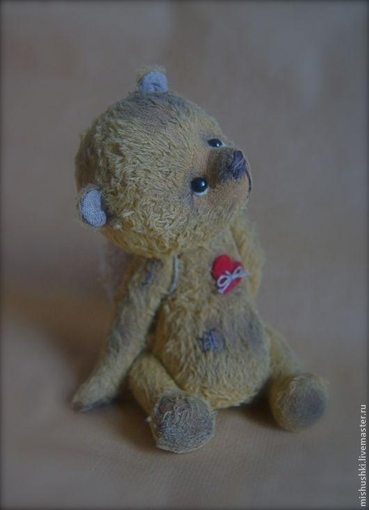 Мишки Тедди ручной работы. Ярмарка Мастеров - ручная работа. Купить Чердачный ангел. Handmade. Мишка тедди, авторская игрушка