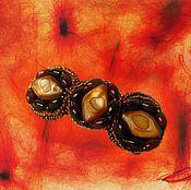 """Украшения ручной работы. Ярмарка Мастеров - ручная работа Заколка """"Бастет"""". Handmade."""