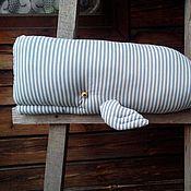 Для дома и интерьера ручной работы. Ярмарка Мастеров - ручная работа подушка КИТик. Handmade.