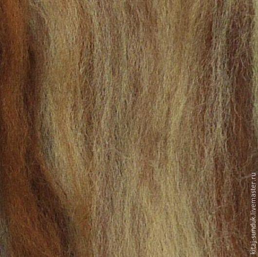 Валяние ручной работы. Ярмарка Мастеров - ручная работа. Купить Топс тонкий, цвет меланж 100 г  № 17. Handmade.