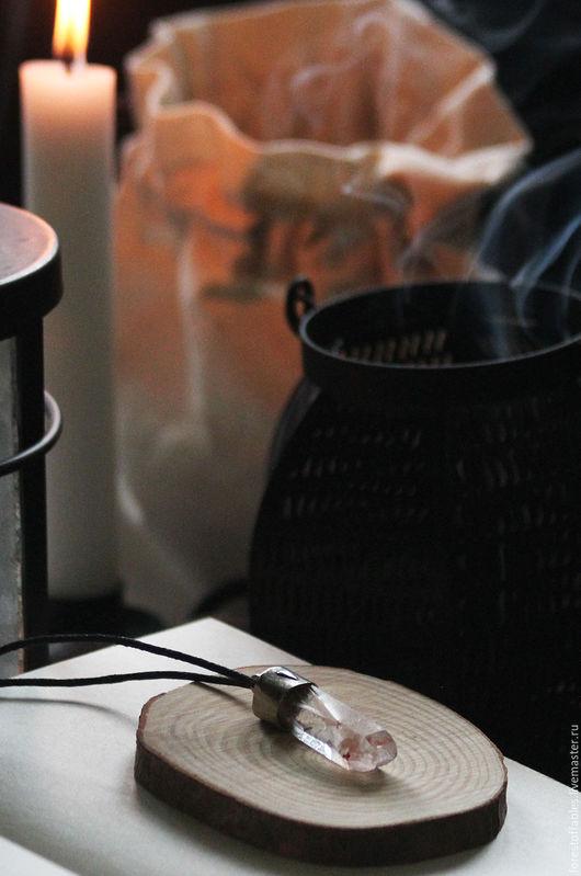 """Кулоны, подвески ручной работы. Ярмарка Мастеров - ручная работа. Купить Кулон """"Witchery"""". Handmade. Бледно-розовый, волшебство, колдовство"""