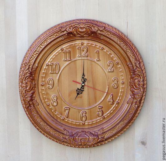 Часы для дома ручной работы. Ярмарка Мастеров - ручная работа. Купить Круглые настенные часы для дома №2.. Handmade.