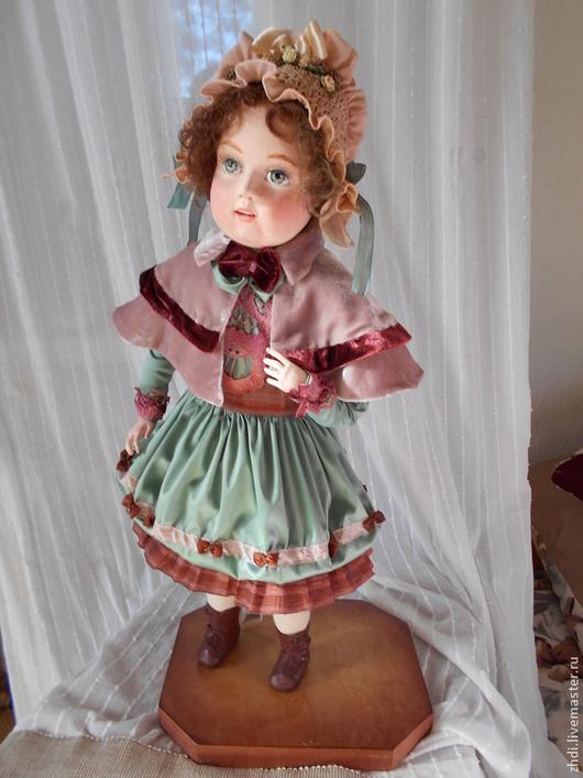 """Коллекционные куклы ручной работы. Ярмарка Мастеров - ручная работа. Купить Авторская кукла """" Маша Папье 2"""" Для примера. Handmade."""