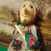 Куклы и игрушки ручной работы. Ярмарка Мастеров - ручная работа Маленькая Баба Яга. Handmade.