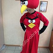 Одежда ручной работы. Ярмарка Мастеров - ручная работа Костюм для  аниматора Энгри Бердс (Angry Birds). Handmade.