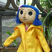 Куклы и игрушки ручной работы. Ярмарка Мастеров - ручная работа Коралина кукла.. Handmade.