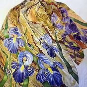 Аксессуары handmade. Livemaster - original item Scarf silk batik