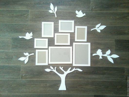 Интерьерные слова ручной работы. Ярмарка Мастеров - ручная работа. Купить Семейное дерево. Handmade. Семейное дерево, семья, фанера