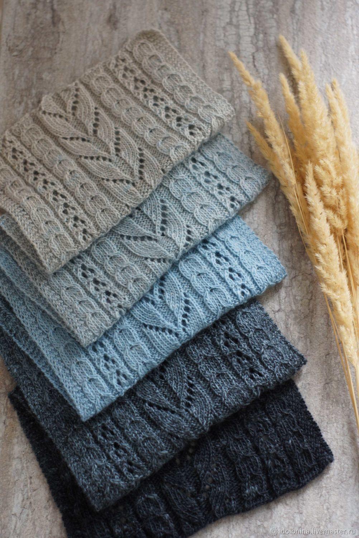 Вязаный шарф мериносовый деграде, Шарфы, Липецк,  Фото №1
