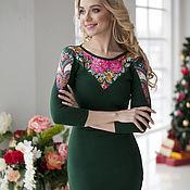 """Одежда ручной работы. Ярмарка Мастеров - ручная работа Платье """"Русские самоцветы"""". Handmade."""