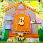 Куклы и игрушки handmade. Livemaster - original item Educational personalized book on the rings!. Handmade.