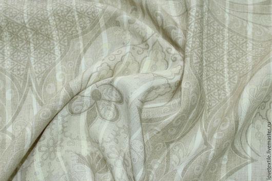 Шитье ручной работы. Ярмарка Мастеров - ручная работа. Купить ZC38, Лен Ralph Lauren. Handmade. Бежевый, льняное платье