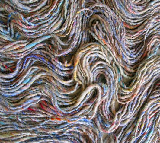 Вязание ручной работы. Ярмарка Мастеров - ручная работа. Купить Пряжа  для вязания SOLO цветная ровница пряжа ручного прядения. Handmade.