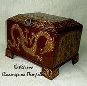 Для дома и интерьера handmade. Livemaster - original item Casket-casket