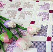 Для дома и интерьера ручной работы. Ярмарка Мастеров - ручная работа Детское одеяло Амели пэчворк. Handmade.
