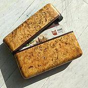 Сумки и аксессуары handmade. Livemaster - original item Designer credit card holder made of wood.. Handmade.