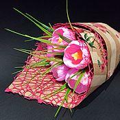 Мыло ручной работы. Ярмарка Мастеров - ручная работа «Весенний букет»,мыло ручной работы. Handmade.