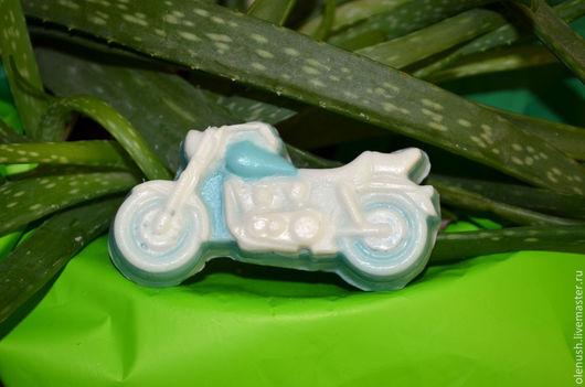 """Мыло ручной работы. Ярмарка Мастеров - ручная работа. Купить Мыло ручной работы детское """"Мотоцикл"""". Handmade. Мотоцикл"""