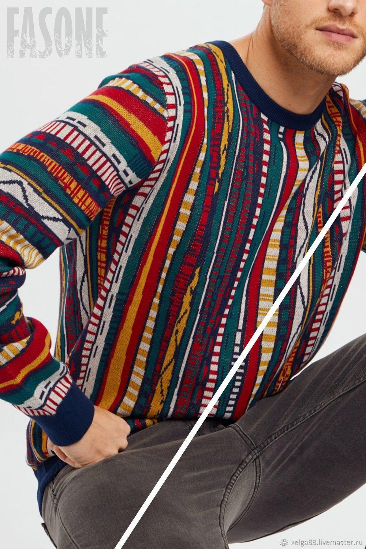 Jerseys: Men's colored sweater ' Haru mamburu', Mens sweaters, Prague,  Фото №1