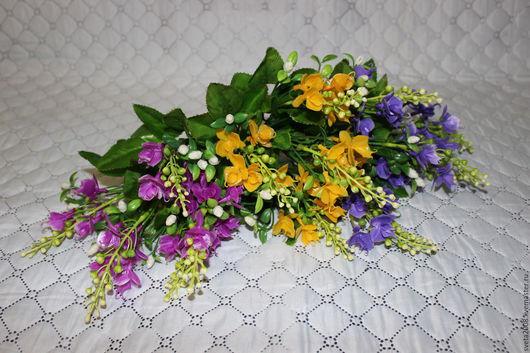 Материалы для флористики ручной работы. Ярмарка Мастеров - ручная работа. Купить Куст с мелкими орхидеями. Handmade. Комбинированный, фаленопсис, фаленопсис