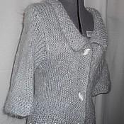 Одежда ручной работы. Ярмарка Мастеров - ручная работа Пальто Серое. Handmade.