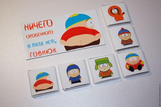 Персональные подарки ручной работы. Ярмарка Мастеров - ручная работа. Купить Crazy Cartman..Сувенирный набор с персонажами SP. Handmade.